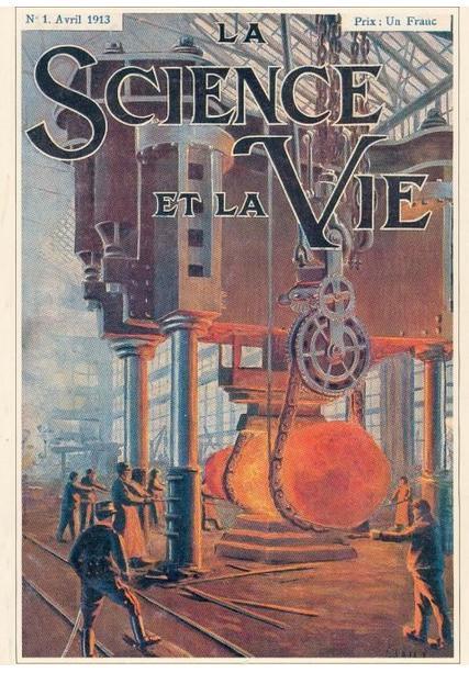 Un 1er avril 1913 : lancement du magazine mensuel français de vulgarisation scientifique Science & Vie.